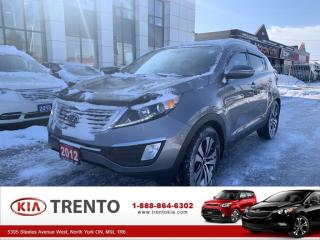 Used 2012 Kia Sportage AWD 4dr Auto EX LUXURY| ACCIDENT FREE | ONE OWNER for sale in North York, ON