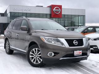 Used 2015 Nissan Pathfinder SL for sale in Midland, ON
