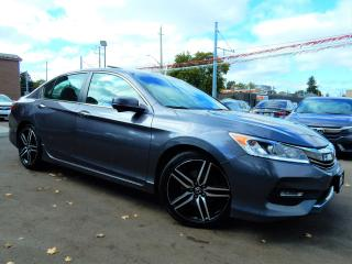 Used 2016 Honda Accord Sport.Automatic.Moonroof.Reverse-Blind Spot Camera for sale in Kitchener, ON