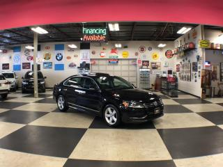 Used 2015 Volkswagen Passat 1.8T COMFORTLINE AUT0 LEATHER SUNROOF CAMERA for sale in North York, ON