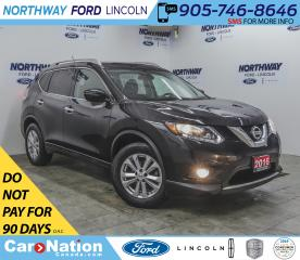 Used 2016 Nissan Rogue SV | PWR HTD SEATS | PUSH START | BACKUP CAM | for sale in Brantford, ON