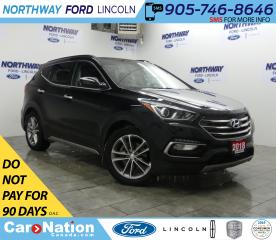 Used 2018 Hyundai Santa Fe Sport Turbo | AWD | HTD LEATHER | PANOROOF | PUSH START for sale in Brantford, ON