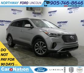 Used 2018 Hyundai Santa Fe XL Luxury | AWD | HTD LEATHER | PANOROOF | PUSH START for sale in Brantford, ON