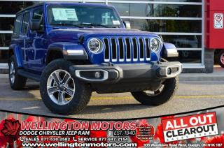 Used 2020 Jeep Wrangler Unlimited Sahara for sale in Guelph, ON