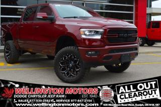 New 2020 RAM 1500 Sport | 6 Inch BDS LIFT KIT | 35'S On FUEL RIMS !! for sale in Guelph, ON