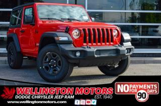 New 2020 Jeep Wrangler SPORT for sale in Guelph, ON