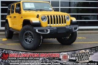 New 2020 Jeep Wrangler Unlimited Sahara / AEV 2 INCH LIFT / AEV BORAH RIMS !! for sale in Guelph, ON