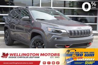 New 2020 Jeep Cherokee Trailhawk Elite for sale in Guelph, ON