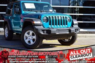 Used 2020 Jeep Wrangler Sport S for sale in Guelph, ON