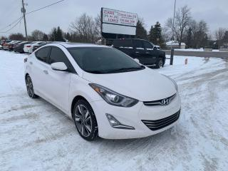Used 2015 Hyundai Elantra Limited for sale in Komoka, ON