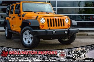 Used 2012 Jeep Wrangler Unlimited Sport / Trailer Tow Group / Alpine Sound System for sale in Guelph, ON
