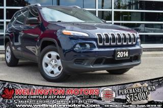 Used 2014 Jeep Cherokee Sport / Cold Weather Group / 4x4 ... for sale in Guelph, ON