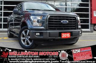Used 2015 Ford F-150 Sport / New Tires / Back-Up Cam / 4x4 ... for sale in Guelph, ON