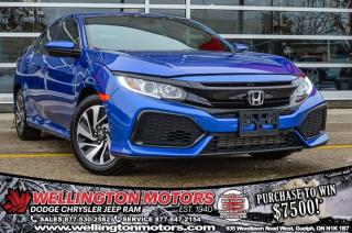 Used 2018 Honda Civic Hatchback LX / Heated Seats / Bluetooth ... for sale in Guelph, ON