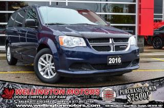 Used 2016 Dodge Grand Caravan SXT / DVD / Climate Group  !! for sale in Guelph, ON