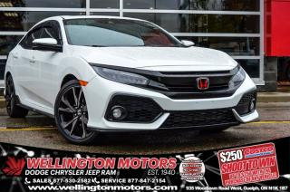 Used 2018 Honda Civic Hatchback Sport Touring / Navi / Leather / Sunroof !! for sale in Guelph, ON