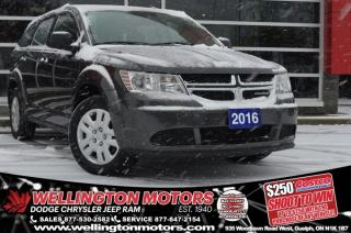Used 2016 Dodge Journey Canada Value Pkg for sale in Guelph, ON