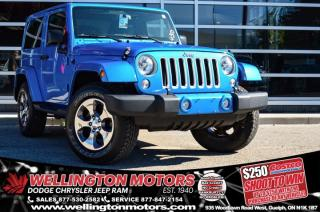 Used 2016 Jeep Wrangler Sahara / Connectivity Group / Dual Top Group !! for sale in Guelph, ON