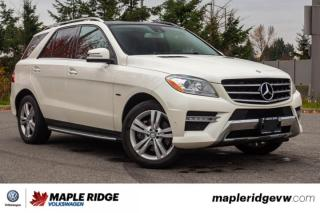 Used 2012 Mercedes-Benz ML-Class ML 350 BlueTEC GREAT ON FUEL, GREAT PRICE, AWD! for sale in Maple Ridge, BC