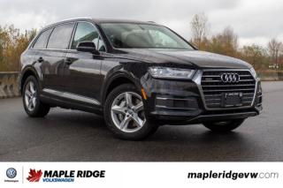 Used 2017 Audi Q7 3.0T Komfort PACKED WITH FEATURES, LOW KM, LOCAL CAR! for sale in Maple Ridge, BC