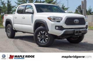 Used 2018 Toyota Tacoma TRD Off Road ONE OWNER, LOW KM, B.C. CAR! for sale in Maple Ridge, BC