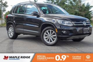 Used 2017 Volkswagen Tiguan Wolfsburg Edition ONE OWNER, NO ACCIDENTS, GREAT PRICE! for sale in Maple Ridge, BC