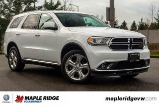 Used 2015 Dodge Durango Limited FULLY LOADED, GREAT PRICE, LOCAL VEHICLE! for sale in Maple Ridge, BC