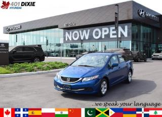 Used 2015 Honda Civic SEDAN LX for sale in Mississauga, ON
