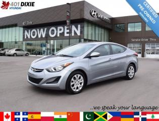 Used 2016 Hyundai Elantra GL for sale in Mississauga, ON