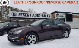 Used 2015 Chevrolet Cruze 2LT  LEATHER/SUNROOF!! for sale in Barrie, ON