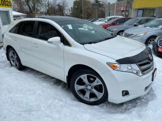 Used 2014 Toyota Venza LIMITED/ LEATHER/ SUNROOF/ REVERSE CAM/ PWR GROUP for sale in Scarborough, ON