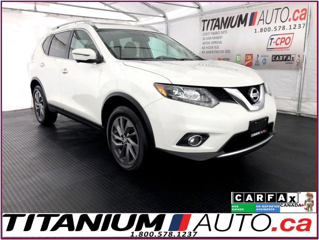 2016 Nissan Rogue SL+AWD+GPS+360 Camera+Blind Spot+Pano Roof+Leather