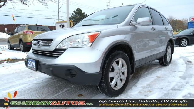2009 Honda CR-V EX-L |LOW KM|NO ACCIDENT|LEATHER|SUNROOF|CERTIFIED