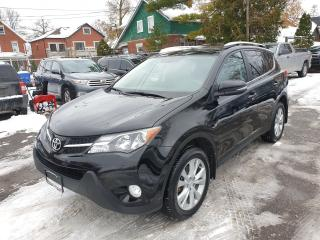 Used 2015 Toyota RAV4 LIMITED  for sale in Brampton, ON