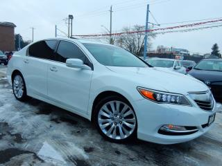 Used 2014 Acura RLX P-AWS Elite Pkg.Navigation.Camera.Leather.Roof for sale in Kitchener, ON