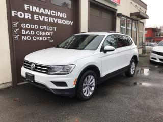 Used 2019 Volkswagen Tiguan TRENDLINE AWD for sale in Abbotsford, BC