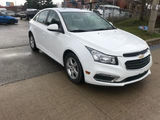 Used 2015 Chevrolet Cruze 2LT,LEATHER,S/ROOF,ALLOYS,SAFETY+3Y WARRANTY INCLU for sale in Toronto, ON