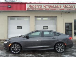 Used 2015 Chrysler 200 S COMFORT PACKAGE for sale in Edmonton, AB