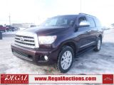 Photo of Maroon 2014 Toyota SEQUOIA PLATINUM 4D UTILITY 4WD