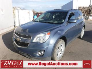 Used 2012 Chevrolet Equinox 2LT 4D Utility AWD 2.4L for sale in Calgary, AB