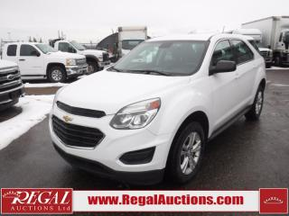 Used 2016 Chevrolet Equinox LS 4D Utility AWD 2.4L for sale in Calgary, AB