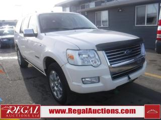 Used 2008 Ford Explorer Limited 4D Utility 4WD for sale in Calgary, AB