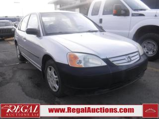 Used 2001 Honda Civic 4D Sedan for sale in Calgary, AB