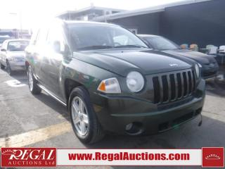 Used 2007 Jeep Compass Sport 4D Utility FWD for sale in Calgary, AB