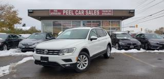 Used 2018 Volkswagen Tiguan TRENDLINE 4Motion AWD 2.0T CERTIFIED | BACK-UP CAM | ANDROID AUTO/APPLE CARPLAY | BLUETOOTH | HEATED SEATS | for sale in Mississauga, ON