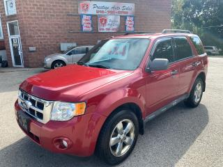 Used 2009 Ford Escape XLT/4X4/3L/NO ACCIDENT/2 SETS OF TIRES/CERTIFIED for sale in Cambridge, ON