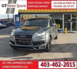Used 2013 Audi Q7 3.0L Sport for sale in Calgary, AB