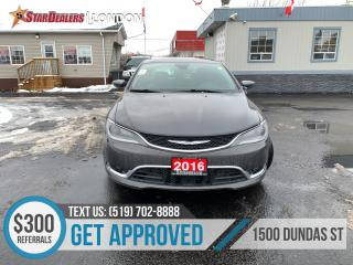 Used 2016 Chrysler 200 for sale in London, ON