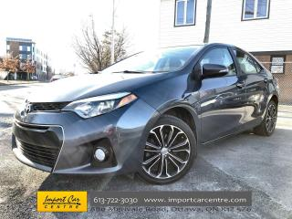 Used 2016 Toyota Corolla S LEATHER  ROOF  NAVI  POWER SEAT for sale in Ottawa, ON
