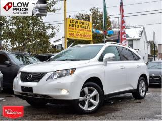 Used 2010 Lexus RX 350 AWD*Leather*Sunroof*Htd&CooledSeats*ExtraClean* for sale in Toronto, ON